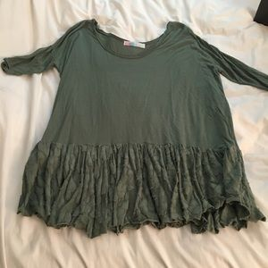 Free People green dress/tunic